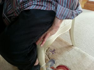 While sitting you can do Dupuytren's contracture stretches with a sit on it technique. Great to use anytime you sit and relax.